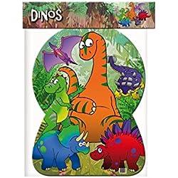 Verbetena - Piñata silueta Dinos, 46x65 cm, (012600102)
