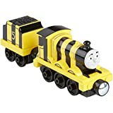 Thomas et ses Amis – Take-N-Play – Busy Bee James – Locomotive Die-Cast + Wagon