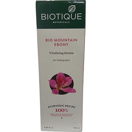 Biotique Bio Mountain Ebony Vitalizing Serum For Falling Hair (120ml) (Pack Of 2)