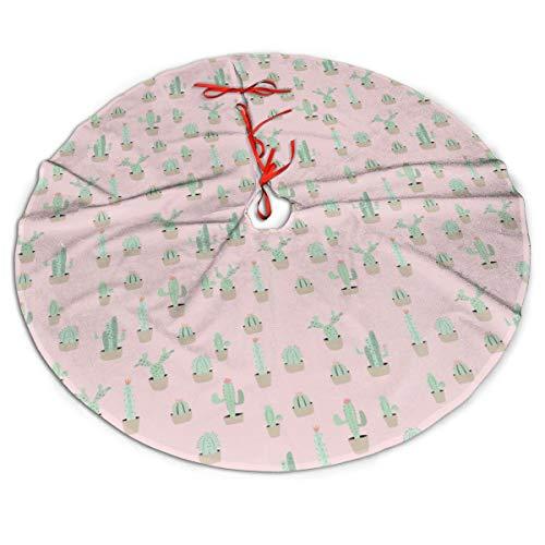 Pengyong - Falda de árbol de Navidad con diseño de Cactus de ...