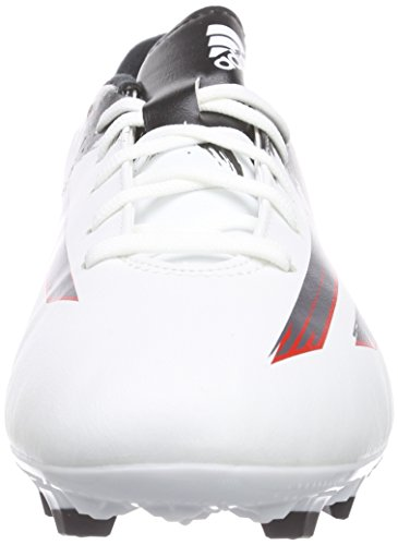 adidas Messi Pibe de Barr10 10.3 Fg, Chaussures de Football Compétition homme Weiß (Ftwr White/Granite/Scarlet)