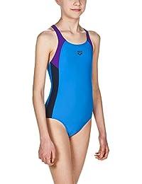 a50f984e3b5bf arena Mädchen Sport Badeanzug Ren (Schnelltrocknend, UV-Schutz UPF 50+,  Chlor…