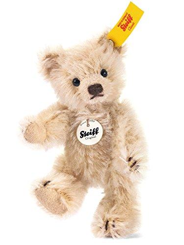 Steiff 40009 - Mini Teddybär, 10 cm, blond (Steiff Knopf Teddybär)
