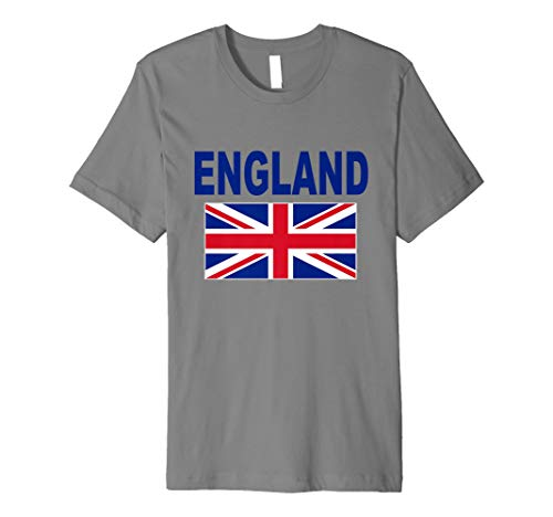 England T-Shirt Britische Flagge Englisch Cool UK Unisex Top Tee