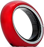"""AEG Eclipse 10 - Schnurloses 1.6"""" Design DECT-Telefon mit Freisprecheinrichtung im Mobilteil - Rot"""