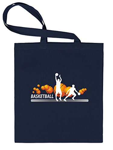 Basketball Fan 4446 Stoffbeutel (Navy)
