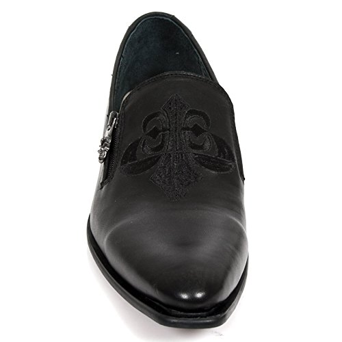size 40 bd83f e3c8b New Rock M Nw147 S1, Chaussures de ville homme BLACK, ...