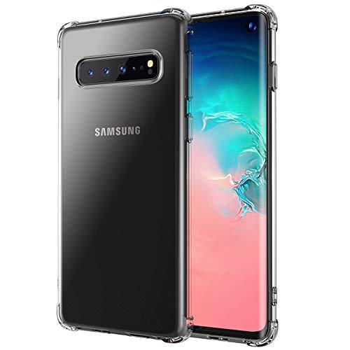 ab438a10b0a5e anccer Funda para Samsung Galaxy S10, Silicona Transparente Protector Gel  Ultra Fina Protección Case Compatible para Samsung Galaxy S10 (Clear ...