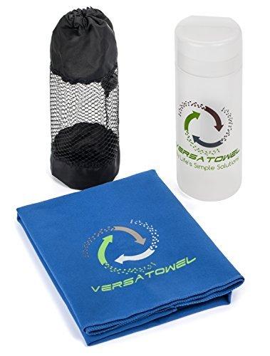 Stay gekühlt mit diesen Top Verkauf Kühlung Handtücher mit Bonus Mesh Tragetasche. Ideal für alle Ihre Lieblings-Aktivitäten wie Workout, Yoga, Golf, Laufen, und vieles mehr, blau -