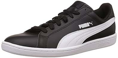 Puma Unisex Adults' Smash Low-Top Trainers, Black (Black-White), 3.5 UK (36 EU)