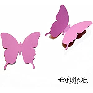 Geschenkanhänger Papieranhänger Tags Etiketten Schmetterling