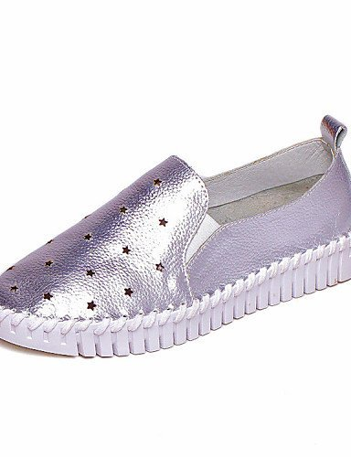 Creepers Décontractés Chaussures Mocassins Shangyi Femme xYqxFfHnI