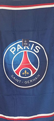 GSP PSG FOOTBALL CLUB–Toalla de baño grande (del Paris Saint Germain Champion de France Collection 2018–2019Cavani, mbappé, Neymar edición límite 70x 140cm 100% algodón