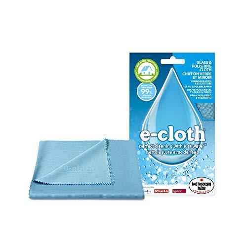 Polti EGC E-Cloth - Mikrofaser - Poliertuch für Glas, Edelstahl und andere glänzende Oberflächen