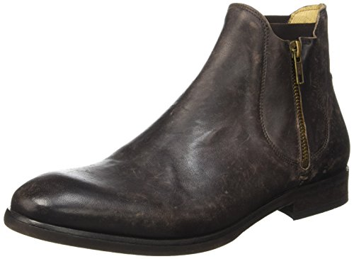 Hudson Mitchell Calf, Bottes Chelsea Homme Marron (Brown)
