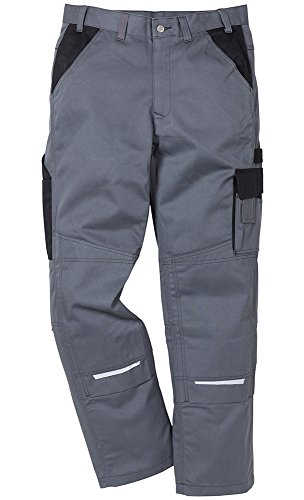 Kansas Bundhose ICON Hose Grau/schwarz 42 (Icon Hosen)