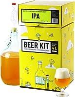 Brassez votre propre bière IPA à la maison comme un vrai maître brasseur ! Ce Beer Kit de niveau intermédiaire vous permet de réaliser toutes les étapes du brassage et ainsi d'avoir l'expérience de A à Z. Ce kit contient tout le matériel réutilisable...
