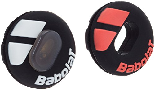Babolat Custom Damp Tennis Antivibrazione Black Fluo Red