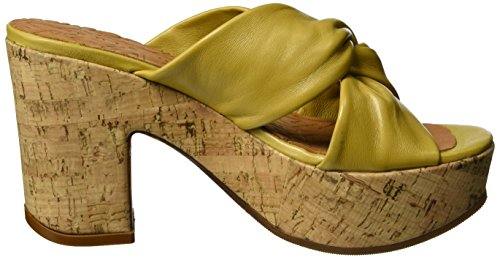 Chie Mihara Faba, Sandales  Bout ouvert femme Gelb (maitai curry cork)