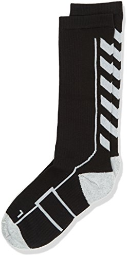07f083c226f Hummel Sport Knee Length Unisex Socks Antibacterial for Sport and Fitness –  Tights with Padding in Various Colors – Tech Indoor Socks Long Mesh  Ventilation, ...