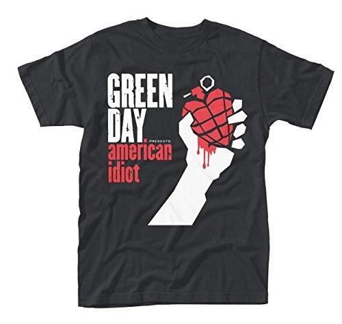 Camiseta Oficial Green Day American Idiot (Negro)