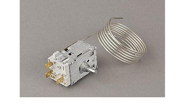 Amica Kühlschrank Thermostat : Amica kühlschrank thermostat temperaturregler a13 0397 1300mm