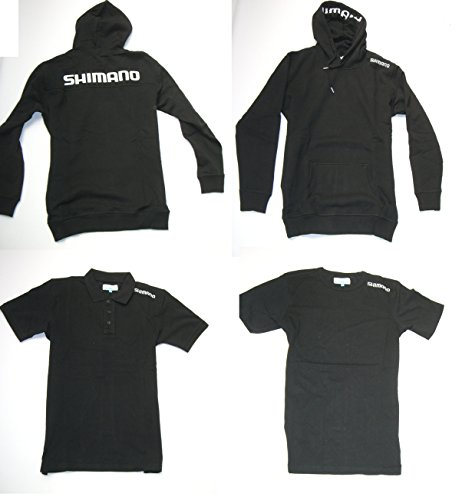 Shimano Clothing Pack Bundle Gr. S Black Hoody + Polo Shirt + T-Shirt