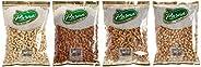 Purna Big Almonds - 800 gm + Cashew Nut Whole - 800 gm + Pista Salted - 800 gm(big) + Walnut - 800 gm