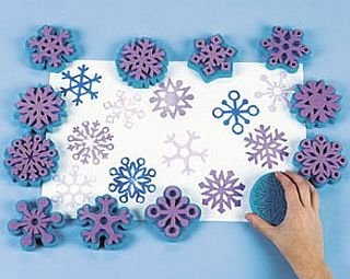 snowflakes-foam-paint-stamps-for-kids-painting-kids-paint-stampers