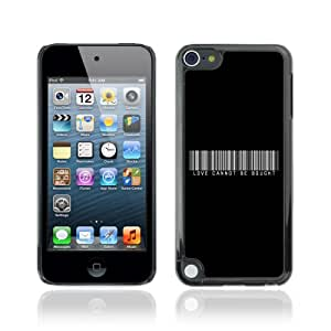 CQ Tech Phone Accessory: Hard Tasche Hülle Etui Case für Apple iPod Touch 5 - Love Cannot Be Bought