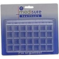 ms05883Sure Health Tablettenorganizer 28fach mit Tablett preisvergleich bei billige-tabletten.eu