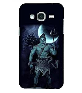 PRINTSHOPPII LORD SHIVA Back Case Cover for Samsung Glaxy J3 New Edition (2016)