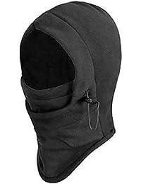 6en 1térmica Fleece Capucha Pasamontañas Policía SWAT Ski bici cortavientos máscara