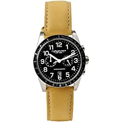 A.g. Spalding & Bros. - Yonkers Chronograph Black Dial Leather Strap Mustard
