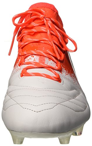 adidas X 16.1 Fg Leather, Scarpe da Calcio Donna Bianco (ftwr White/ftwr White/solar Red)