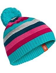 Icebreaker bonnet pour enfant a orbit Turquoise Aquamarine/Raspberry/Night