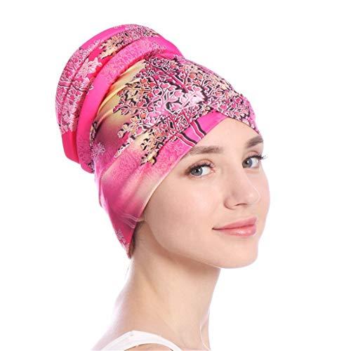 Mitlfuny Indian Muslim Islamic Arab Abaya Jilbab Middle Eastern Ramadan,Frauen-islamischer Moslem-Hijab-Turban-Hut Headwrap-Schal Decken Chemo-Kappe neu ab