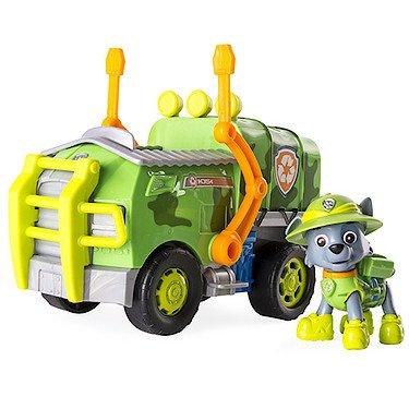 Preisvergleich Produktbild Paw Patrol 6033378 Dschungelfahrzeug mit Hündchen Rocky