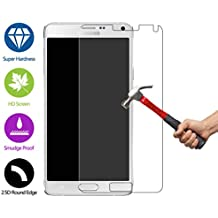ZeWoo Protector de pantalla de vidrio templado para Samsung Galaxy Note 4 (5.7 pulgadas) ultra duro 9H *2.5D con un espesor de 0,33 mm