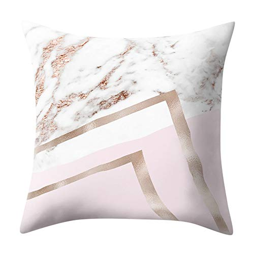 Mitlfuny Black Friay DE Cyber Monday DE,Geometric Marble Texture Throw Pillow Case Cushion Cover Sofa Home ()