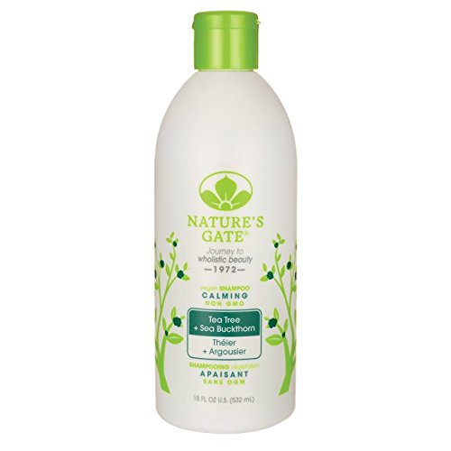 Nature's Gate - Tea Tree Calming Shampoo, 18 fl oz liquid