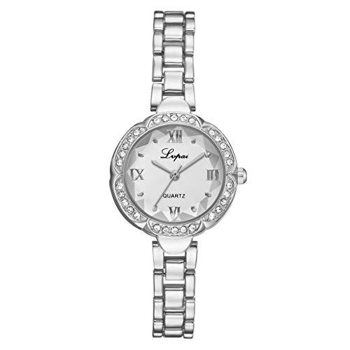 Europäische Mann Kostüm Wild - LILIGOD Einfache Lässige Damenuhr Frauen Mode Europäische Uhren Schönheit und Zarte Armbanduhr Elegant Wild Mini Uhr Exquisite Armbanduhr Festliche Geschenk