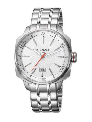 Kienzle - K8011511052-00119 - Montre Homme - Quartz Analogique - Bracelet Acier Inoxydable Blanc