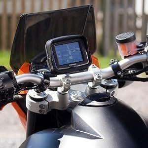 Support Fixation Guidon Velo Moto pour Tom Tom Rider - Boulon M8