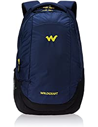 Wildcraft Turnaround Polyester 14 inch 27 Ltrs Blue Laptop Bag (8903340000000)