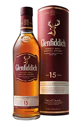 Glenfiddich Solera VAT Single Malt Scotch Whisky 15 Jahre (1 x 0.7 l)