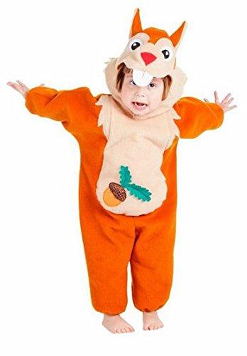 Generique - Eichhörnchen Kostüm für Babys 86/98 (1-3 Jahre)