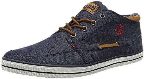 bugatti-f48096-sneakers-hautes-homme-bleu-navy-423-41-eu