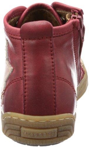 Bisgaard Schnürschuh 30704213 Unisex-Kinder Sneaker Rot (13 Rubino 13)
