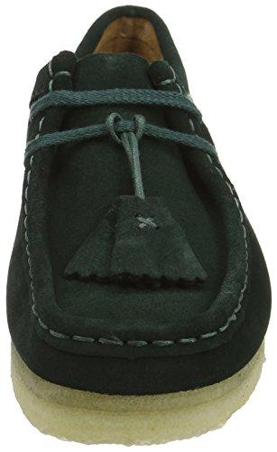 Clarks Originals Wallabee, Boots femme Vert (Dark Grün)